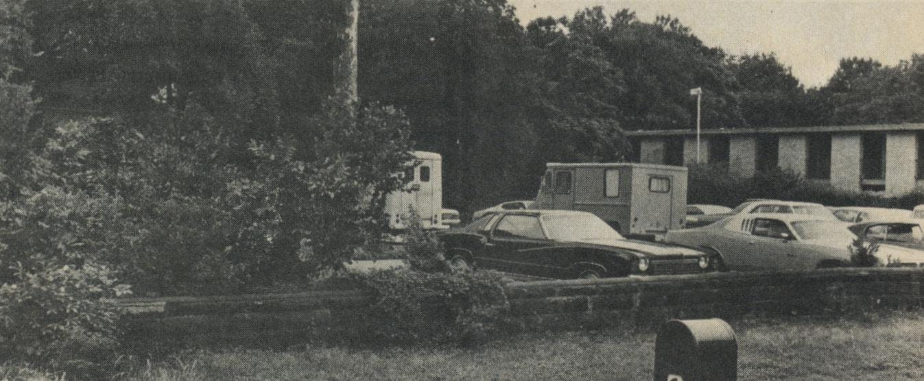 The site where Colonel House's mansion once stood is now a parking lot.