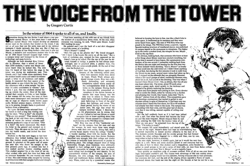 Voice from the Tower