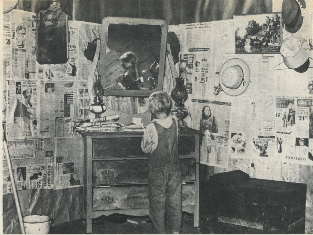 Son of a sharecropper, 1938