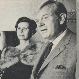 Both Houston architects: Annette Gragg and husband Hugh.