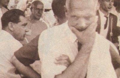 Last known photo of Hughes in Watkins Glen, 1961
