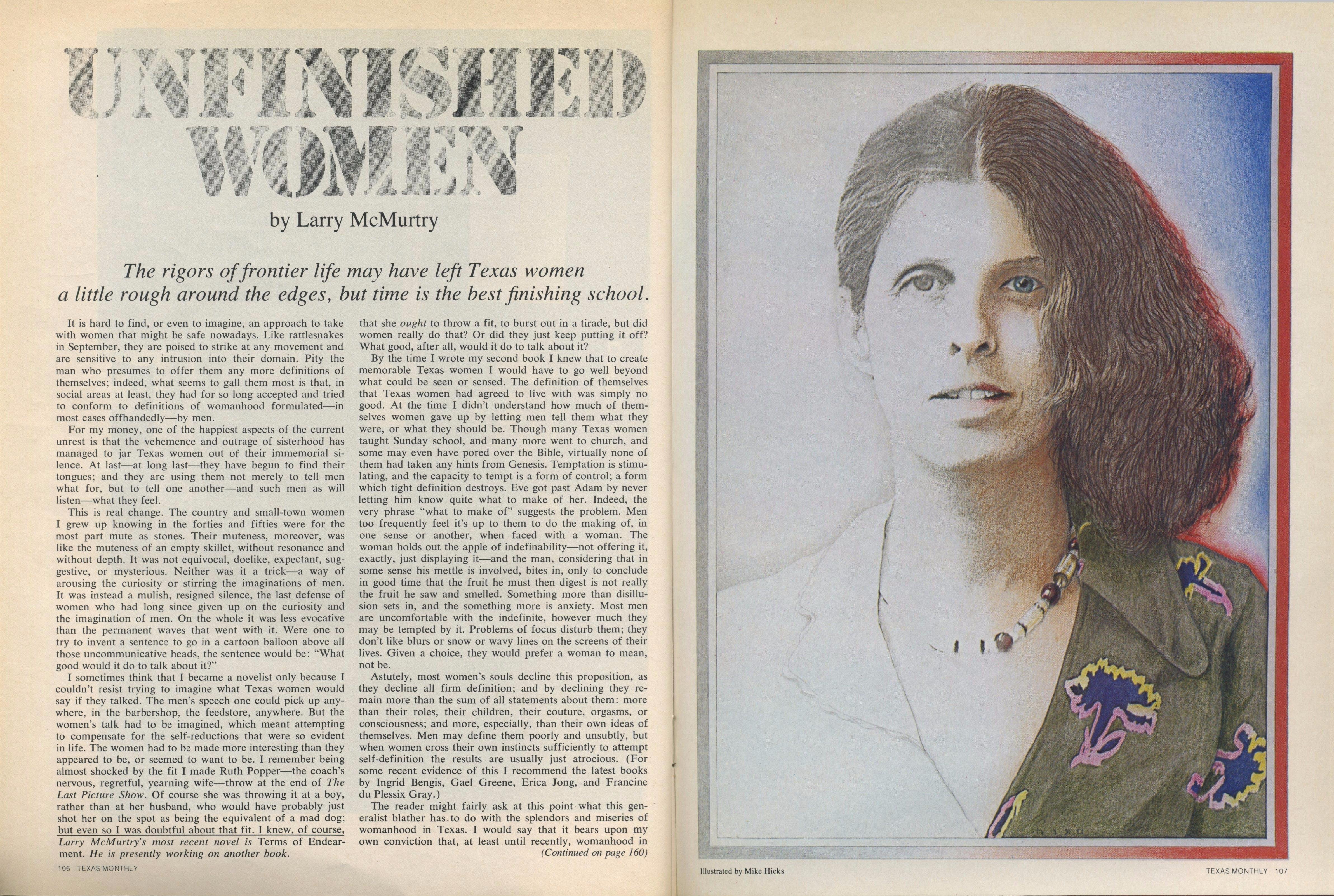 Unfinished Women