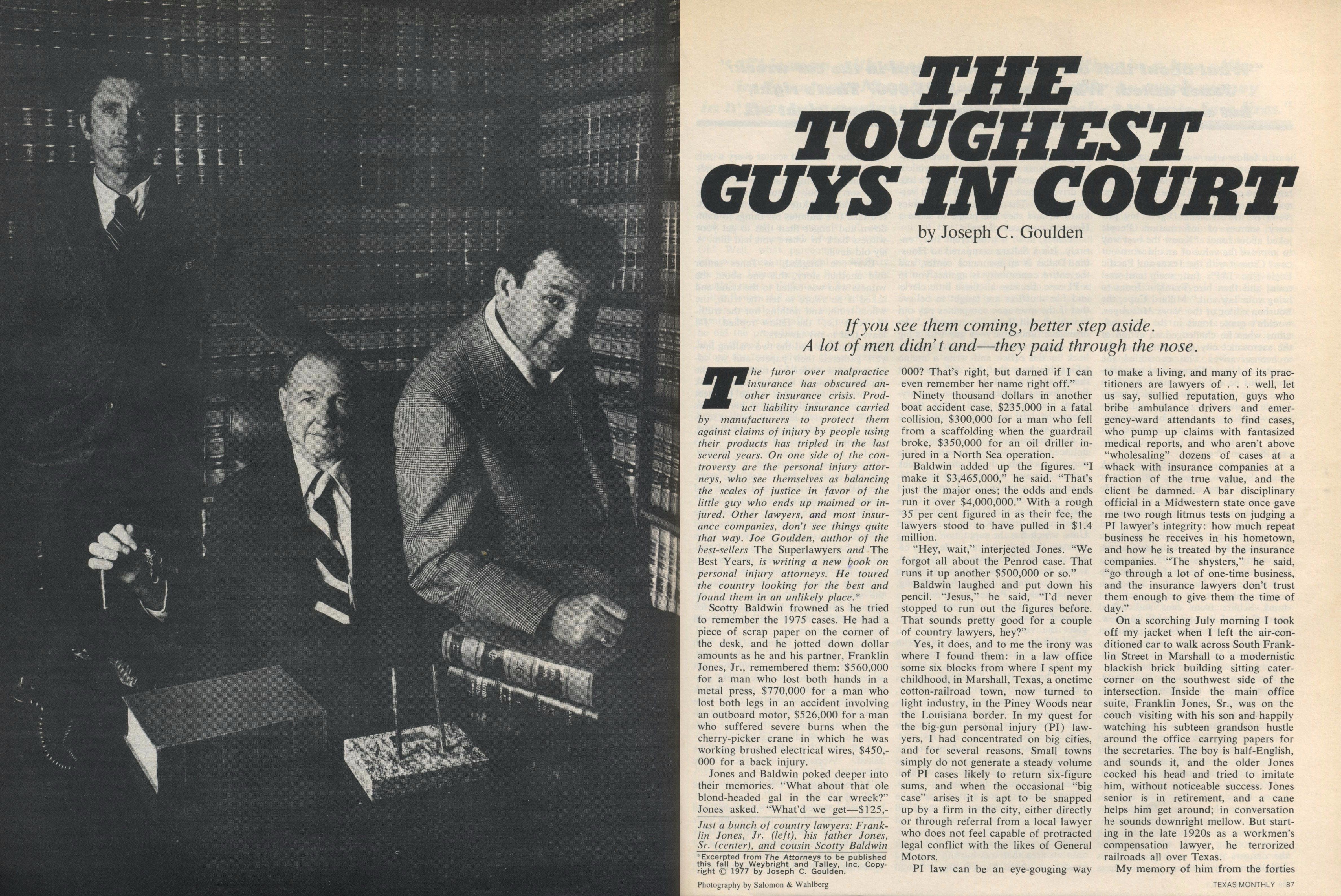 Toughest Guys in Court