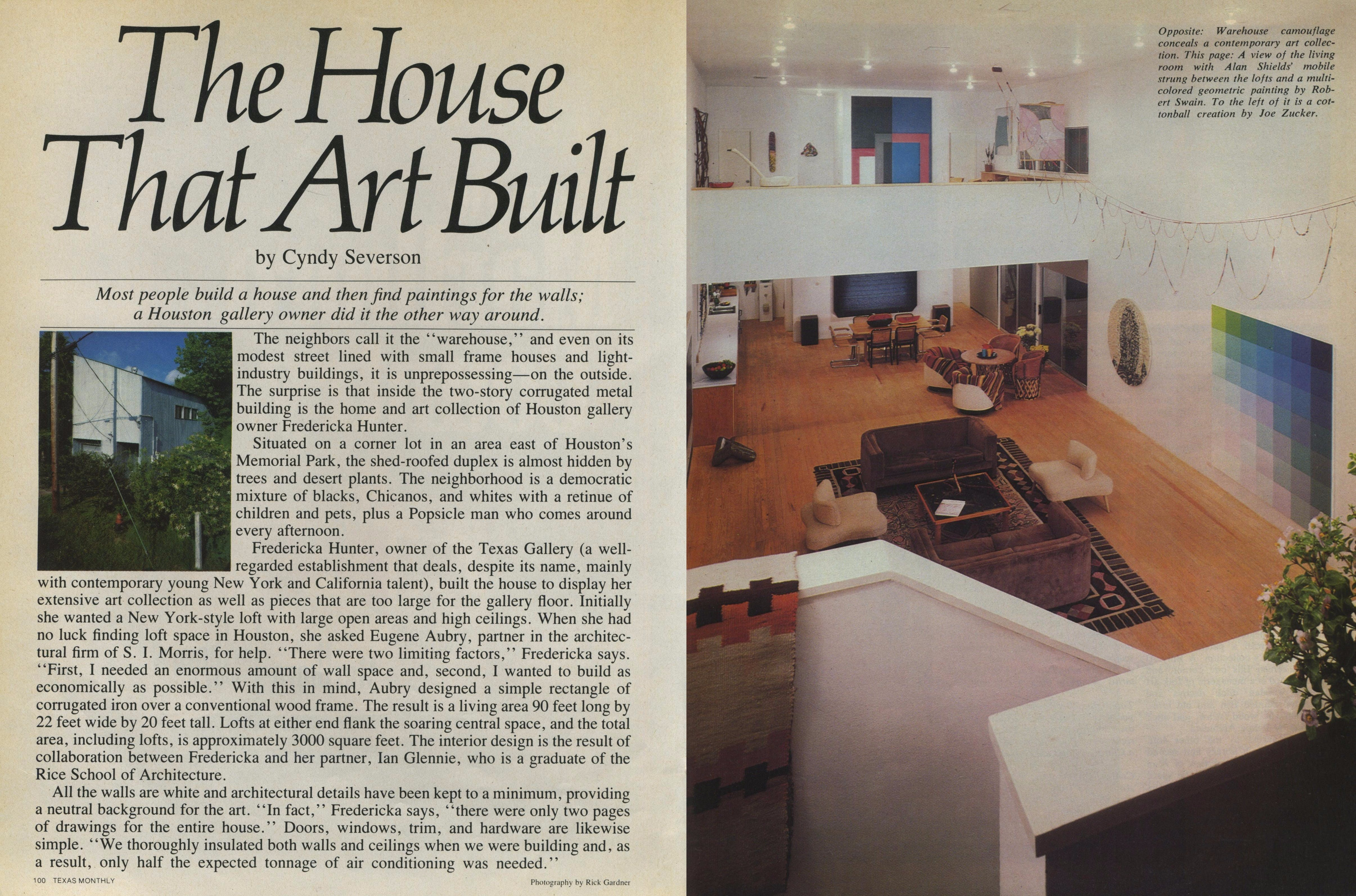 House that Art Built Cover