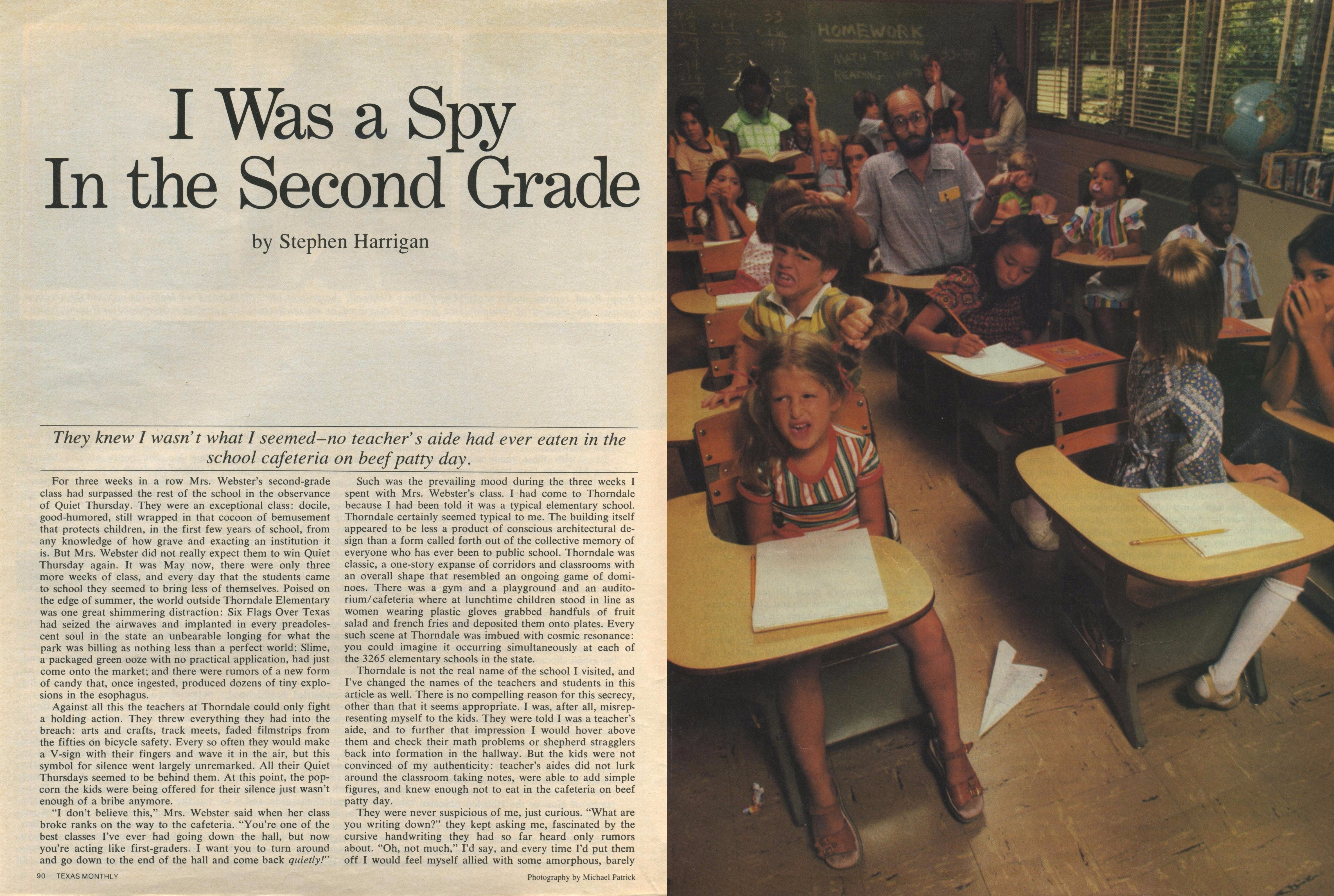 Second Grade Spy