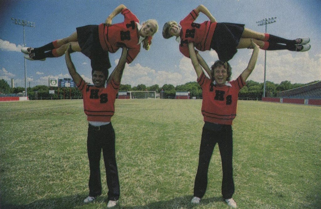 """Siss, Boom, Bah"" won't make it these days; Amarillo Tascosa's acrobatics will."