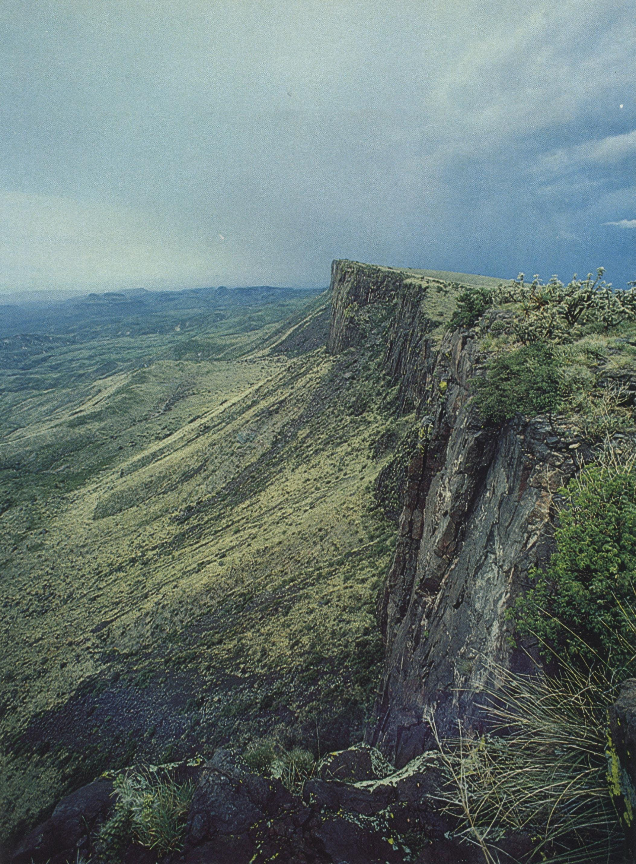 To the south of the Rimrock stretches the merciless Chihuahuan Desert and a 400-year-old Hispanic way of life.