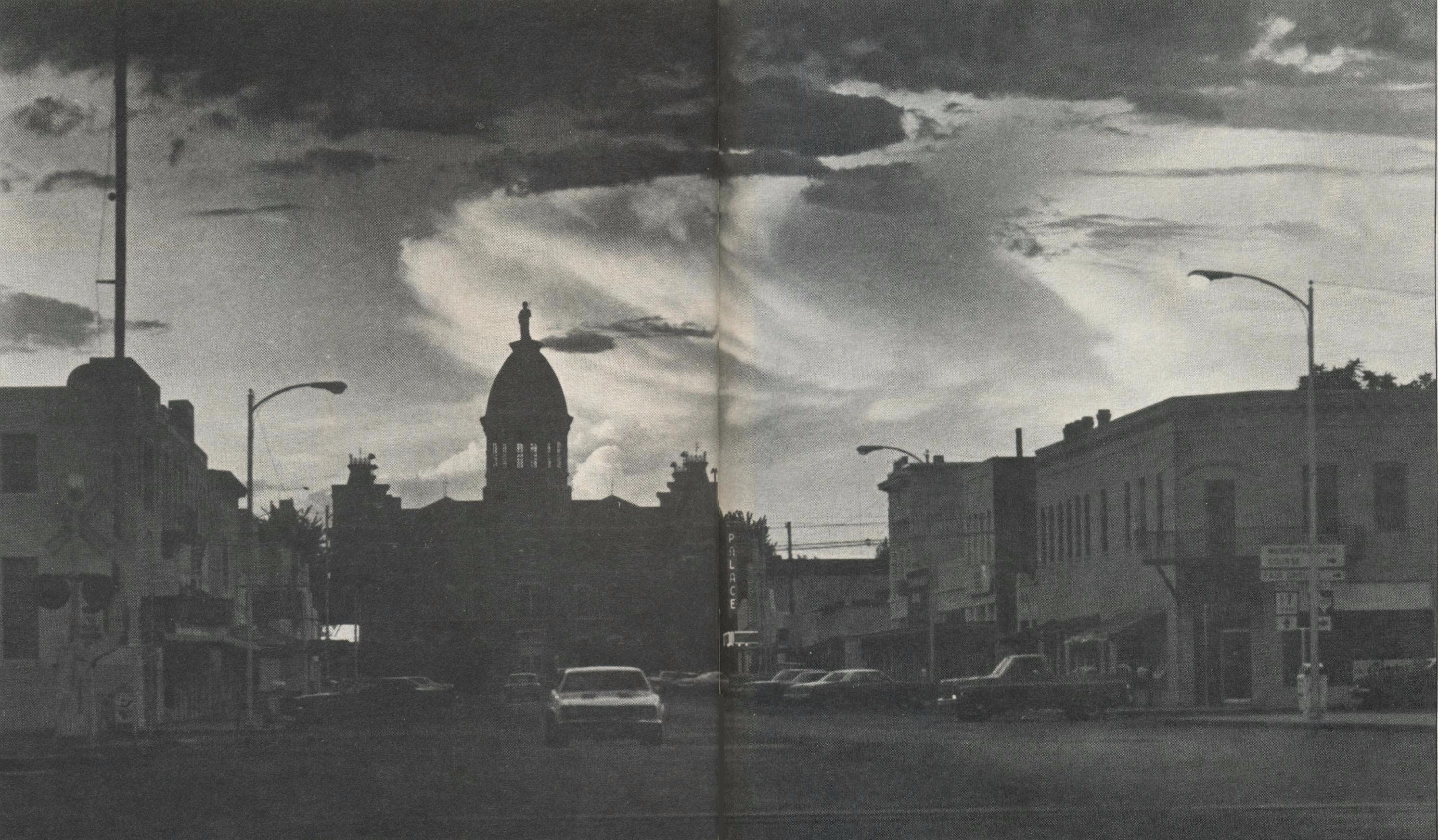 Isolated on the sparsely populated Highland Plain, Marfa remains today, as it has been for a hundred years, the center of commerce for the ranches of Presidio County.