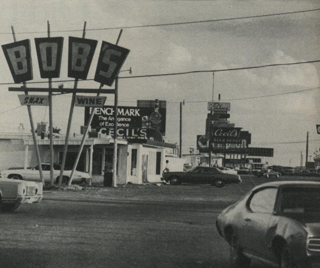Lubbock's Strip: a drive to the Tahoka Highway liquor stores builds character.