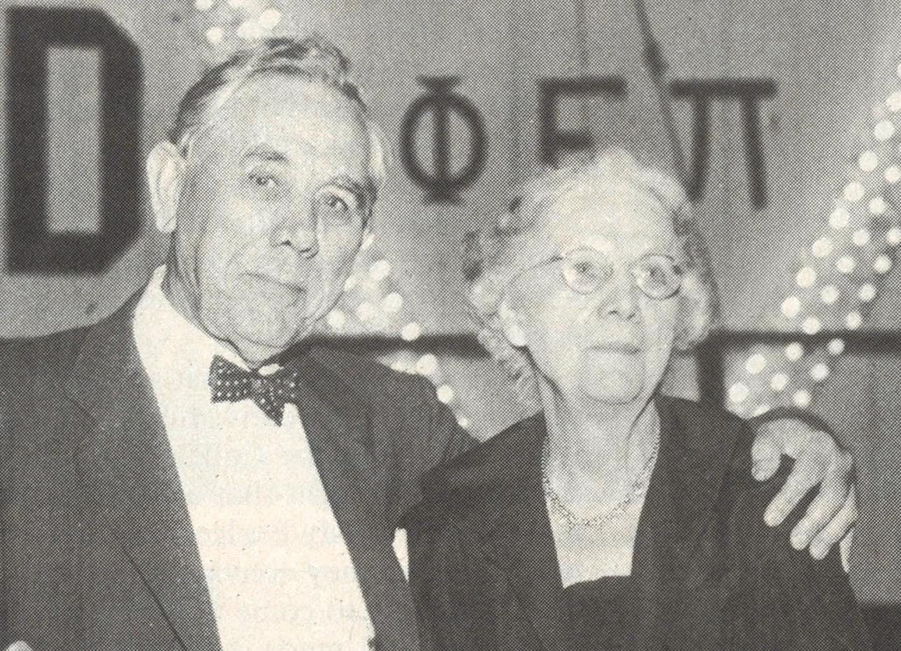 Baron Ricky's grandparents, Hugh Roy and Lillie Cullen.