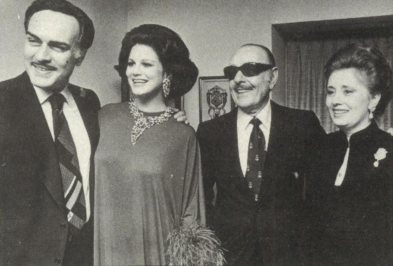 Ricky and Sandra with Paolo di Portanova and his wife, Rita.