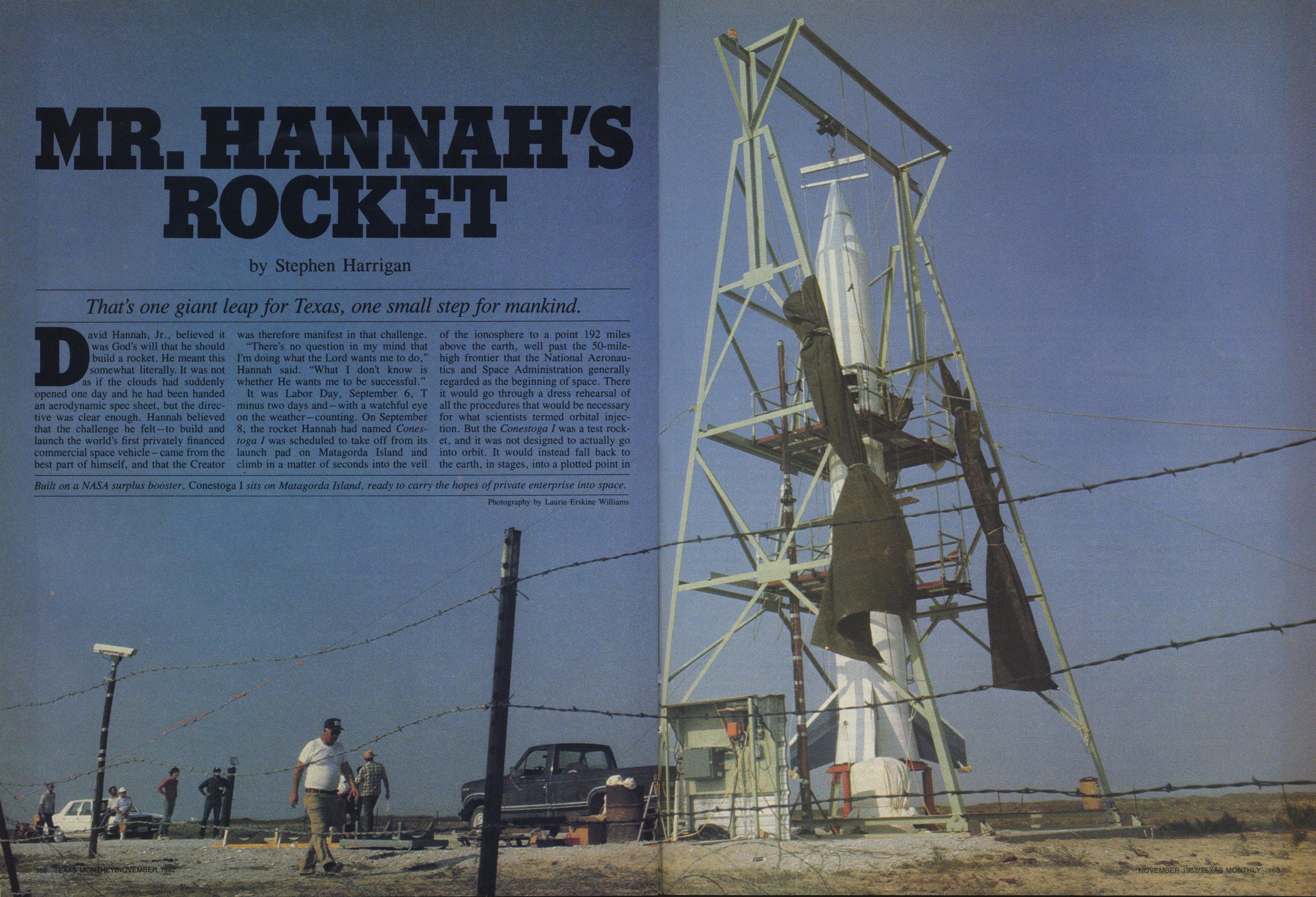 Hannahs Rocket