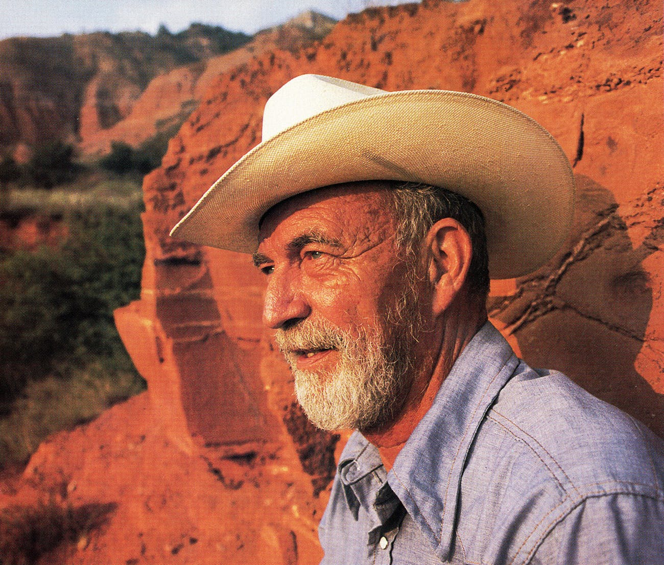 West Texas State professor Jack Hughes