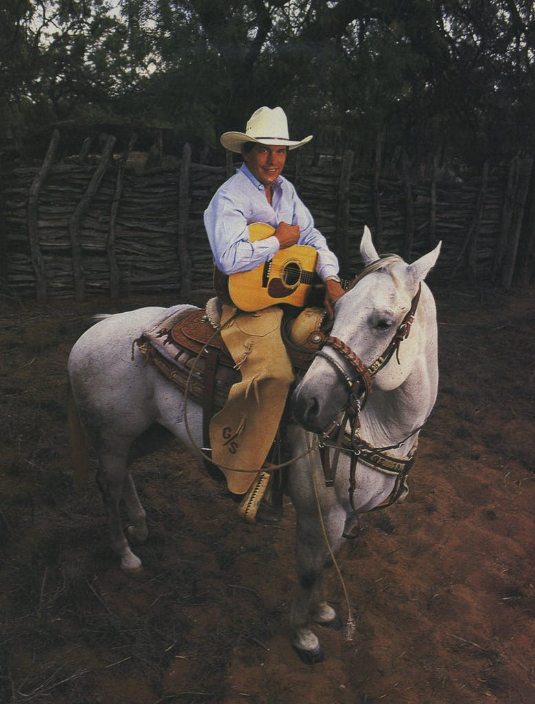 Ever the man in the white hat, singer George Strait is as rooted in the traditions of Texas country music as they come.