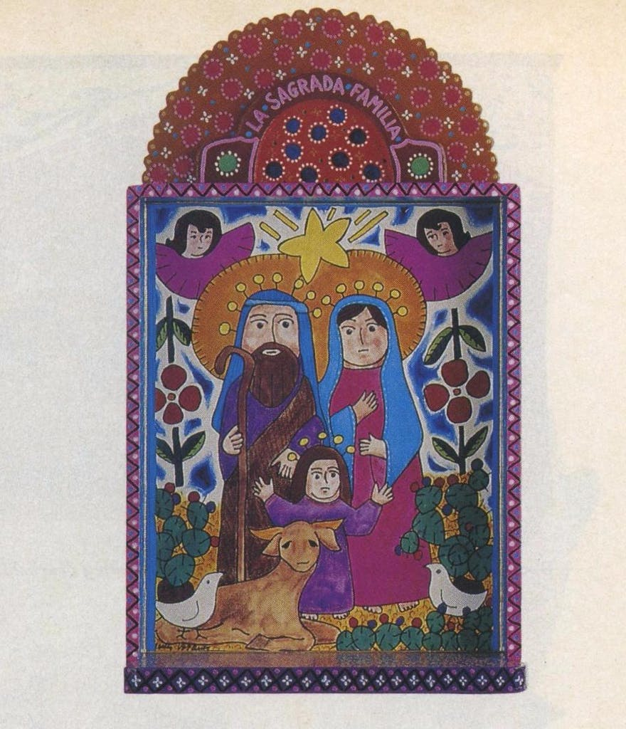 Retablo by San Antonio artists Arturo and Enedina Vasquez (Ecclectic, Austin and Dallas).