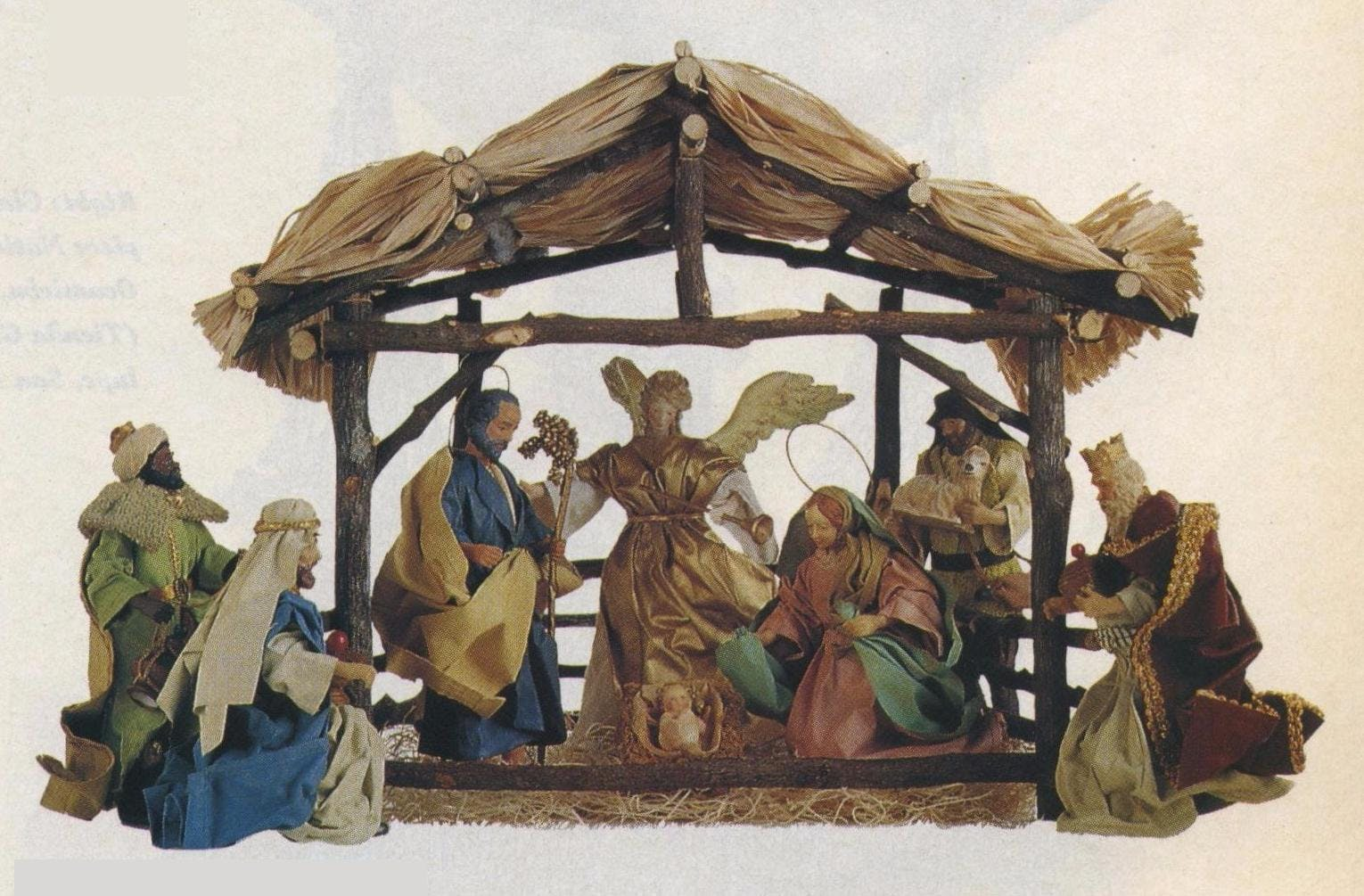 Italian Renaissance knockoff Nativity from Taiwan (Hendley Market).