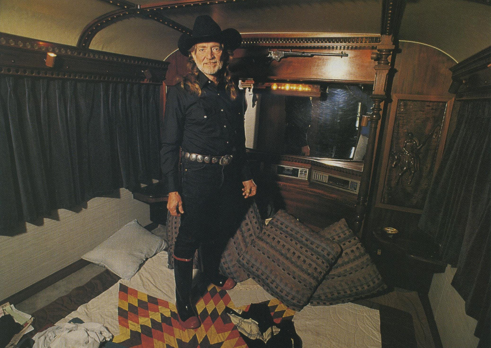 """Would an IRS agent be assigned to shadow the singer on his touring bus? """"I'm not about to let that happen,"""" Willie vowed."""