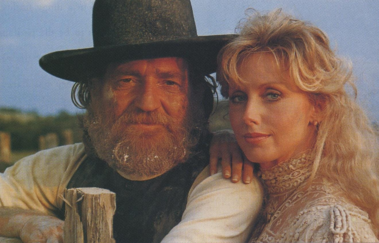In the film version of Red Headed Stranger, Morgan Fairchild was Willie's wife.