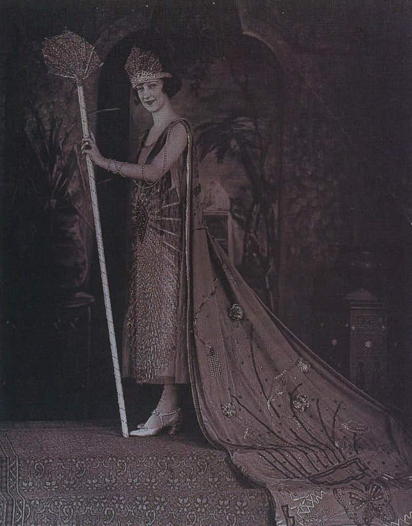 Lady Marie Elaine of the House of Lange, Duchess of Nippon, the Court of Aladdin, 1922