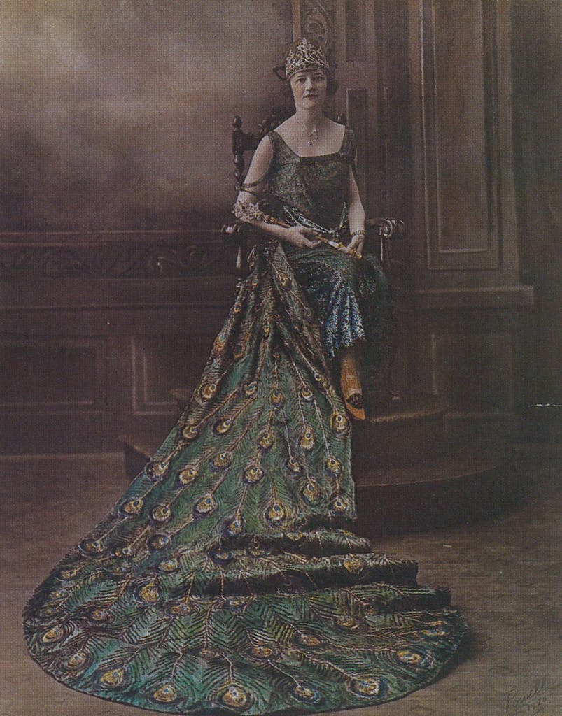 Her Royal Majesty, Edna of the House of Steves, Queen of the Court of Birds, 1920