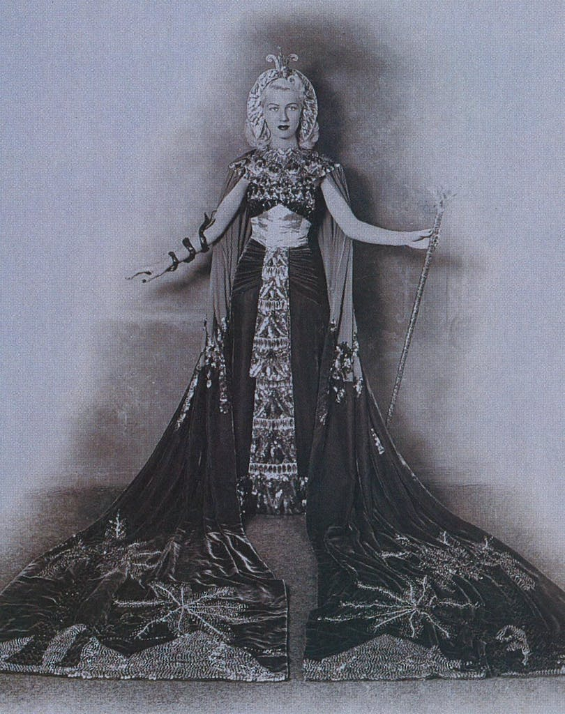 Lady Roberta Welder, Duchess of Egypt, The Legend of the Ptolemys, the Court of Legends, 1941
