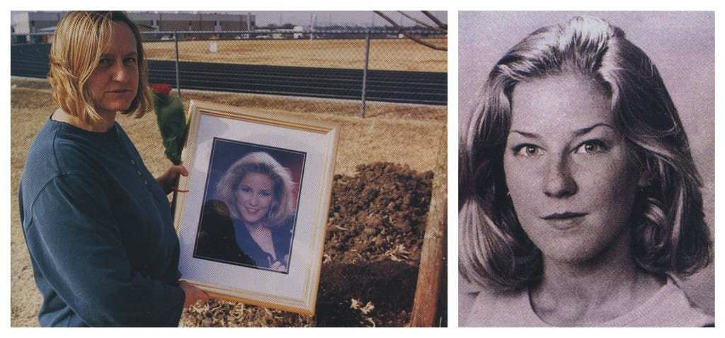 Adrianne's mother, Linda Jones, would often drive to the murder scene, hoping to cross paths with the killer.