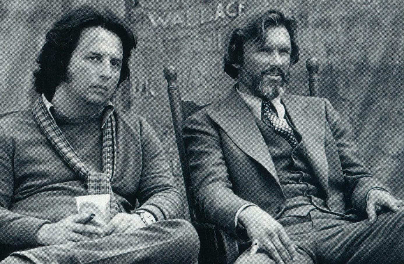 In 1980 Kristofferson and director Michael Cimino hit a low with Heaven's Gate.