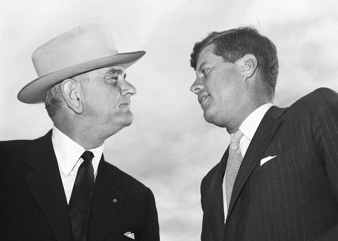 LBJ Kennedy