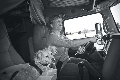 No Bad Ideas Animals Matter Trucker Blk