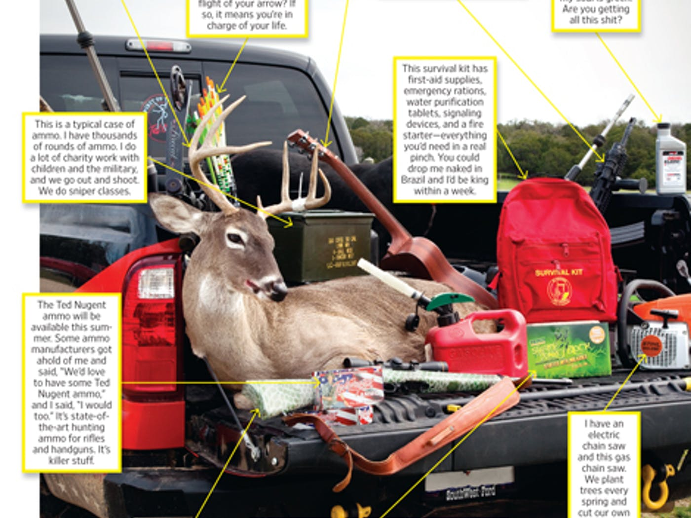 Ted Nugent's Truck – Texas Monthly