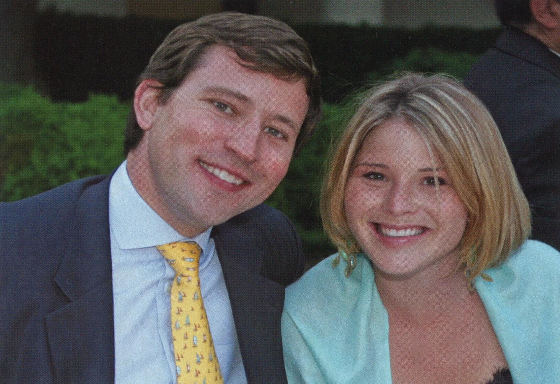 Jenna with her fiance, Henry Hager, in 2006.