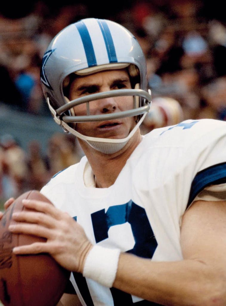 Roger Staubach in 1972.
