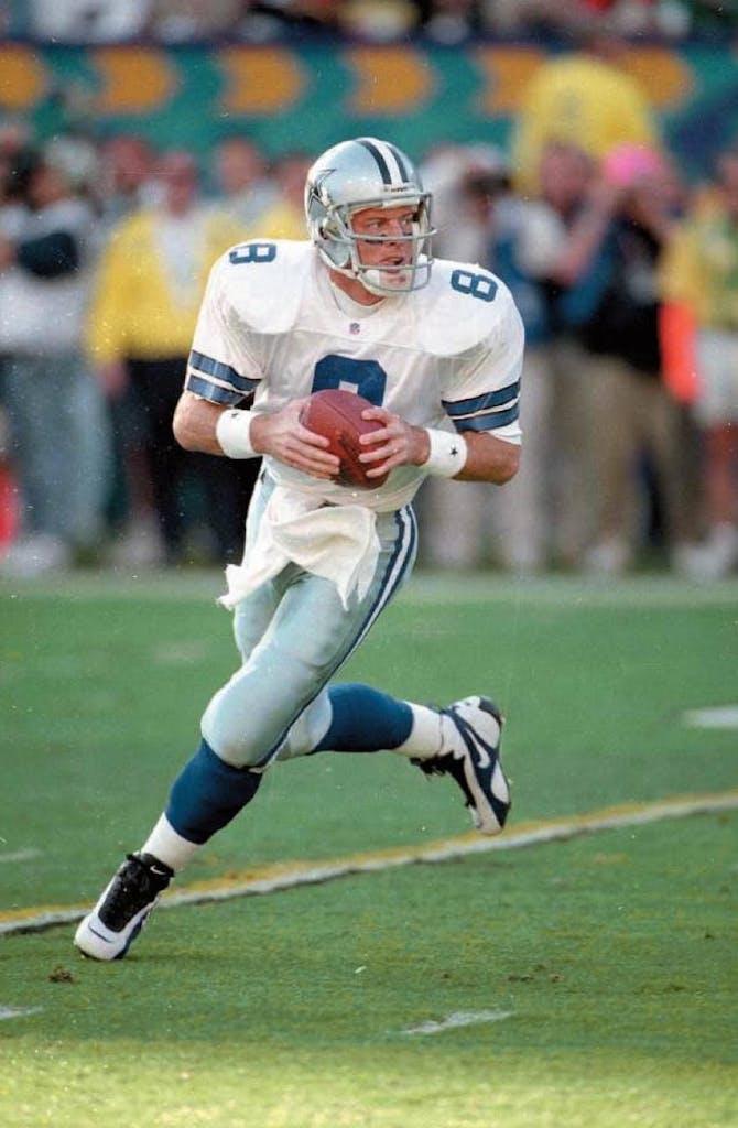 Troy Aikman in 1996.