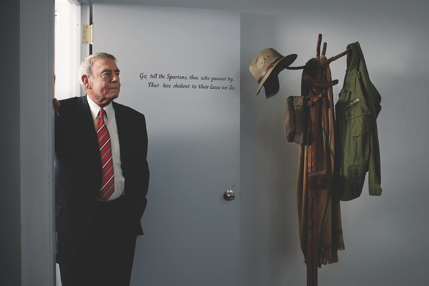 Dan Rather for Texas Monthly in NYC 3-23-12