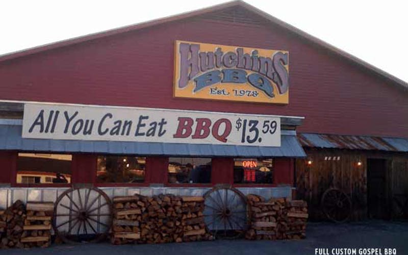 New Year's Eve Fire Closes Hutchins BBQ in McKinney, Texas, Indefinitely