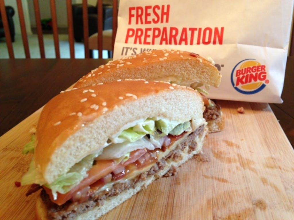 Fast Food BK ad