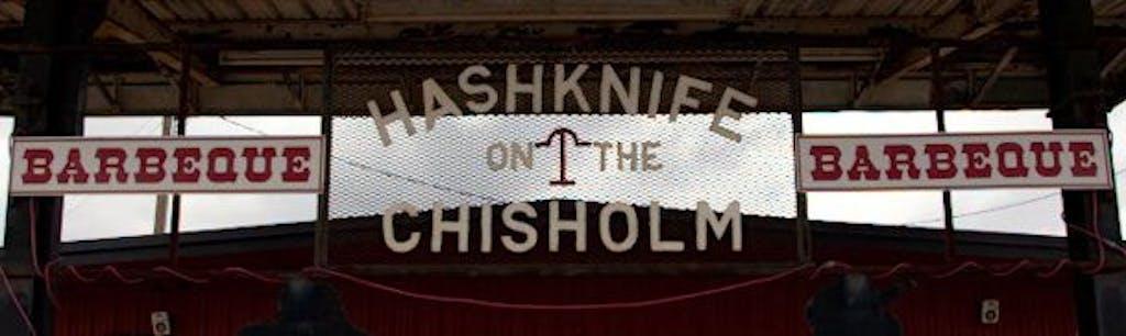 Hashknife sign