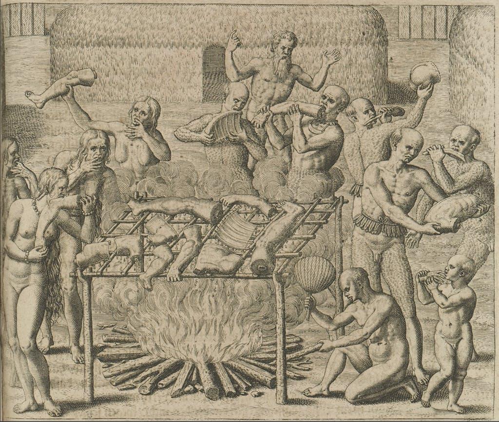 Cannibals de Bry