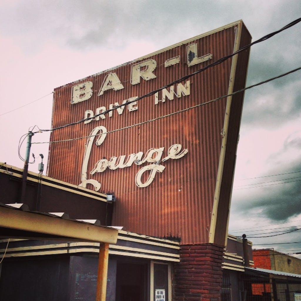 Bar-L sign