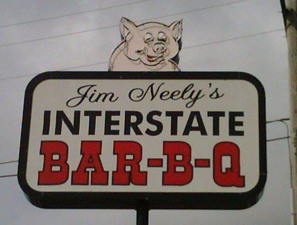 Interstate BBQ logo