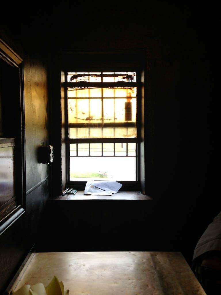 Meshack's window