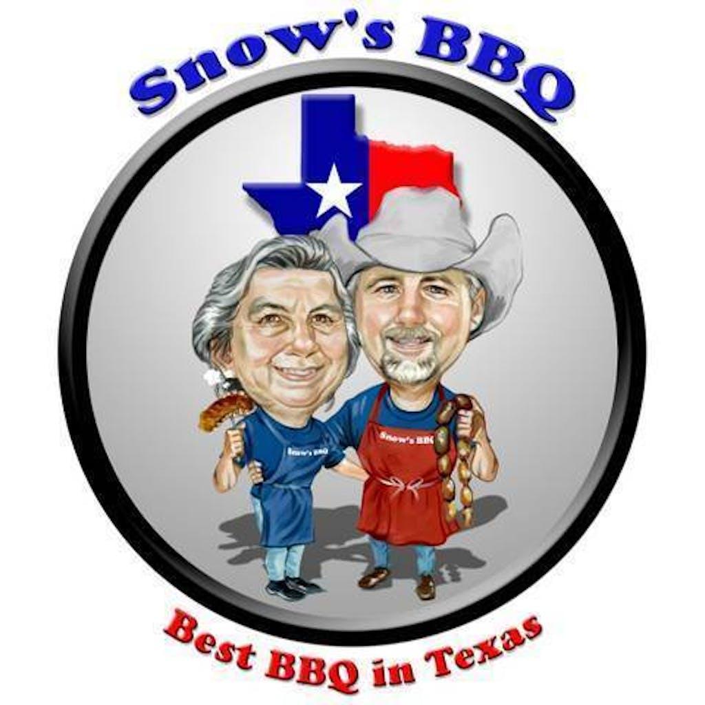 Snow's BBQ logo