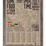 BBQ Wood Map