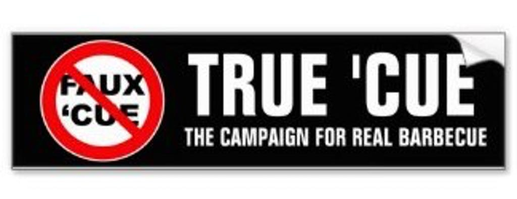 true cue bumper sticker