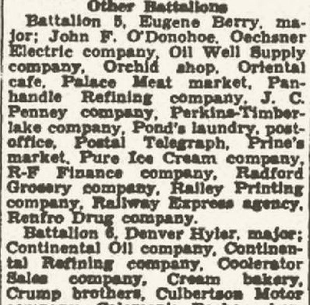 Prine's Market 1936
