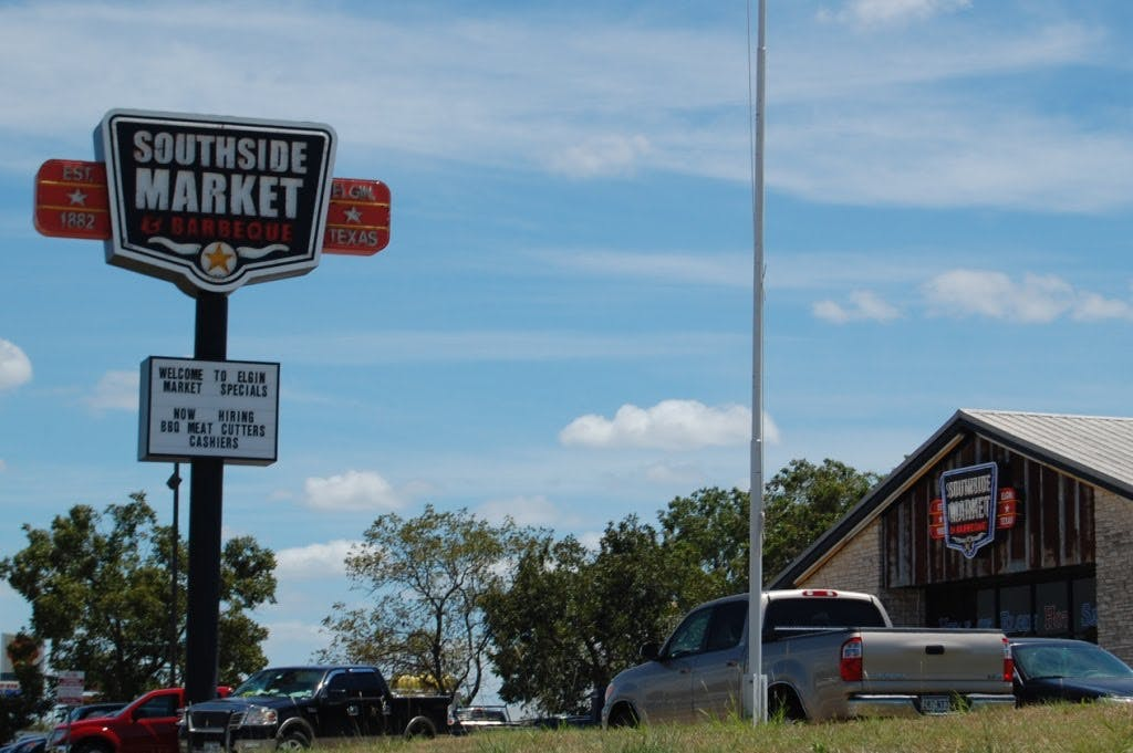 Southside Market sign