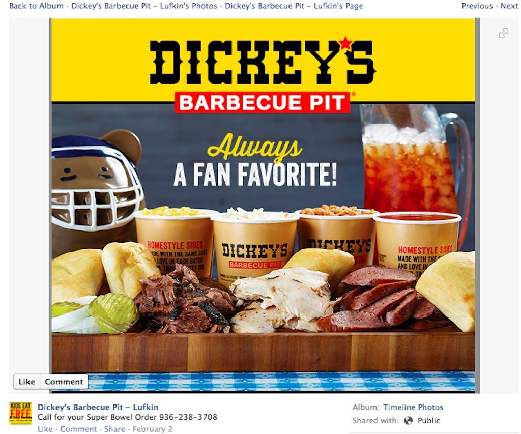 Dickey's Bowel
