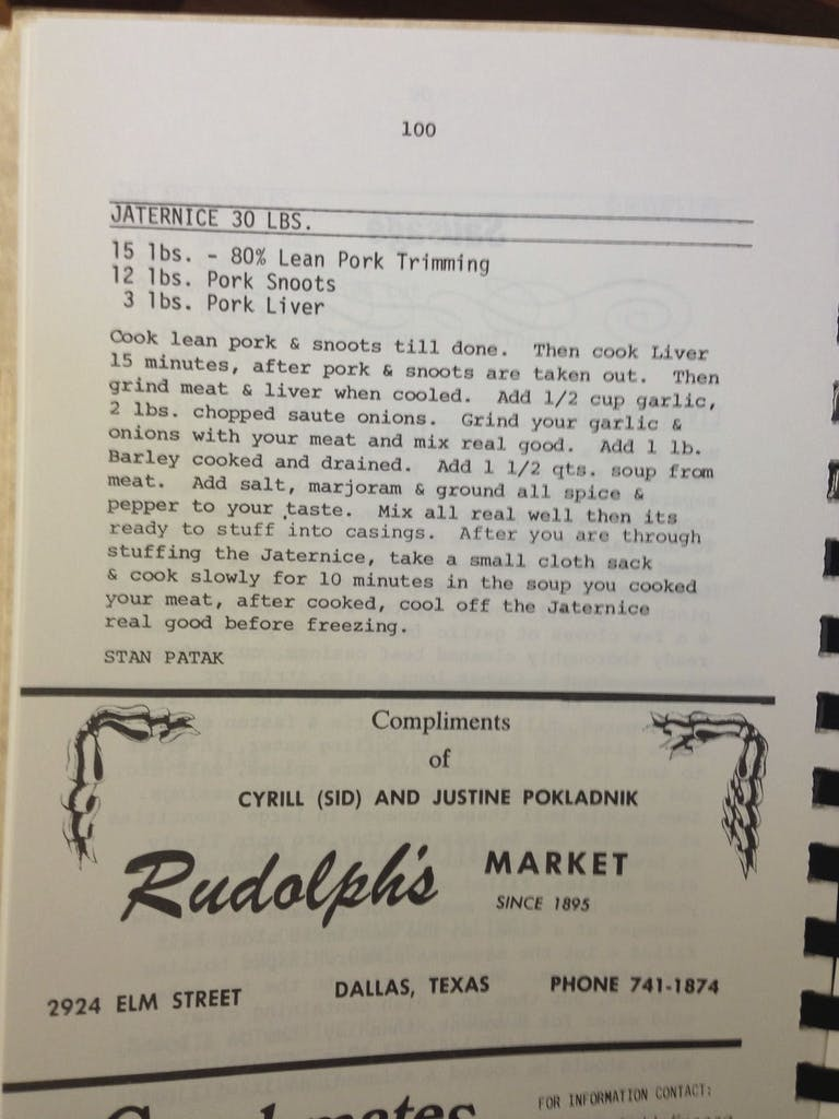 Jaternice Recipe