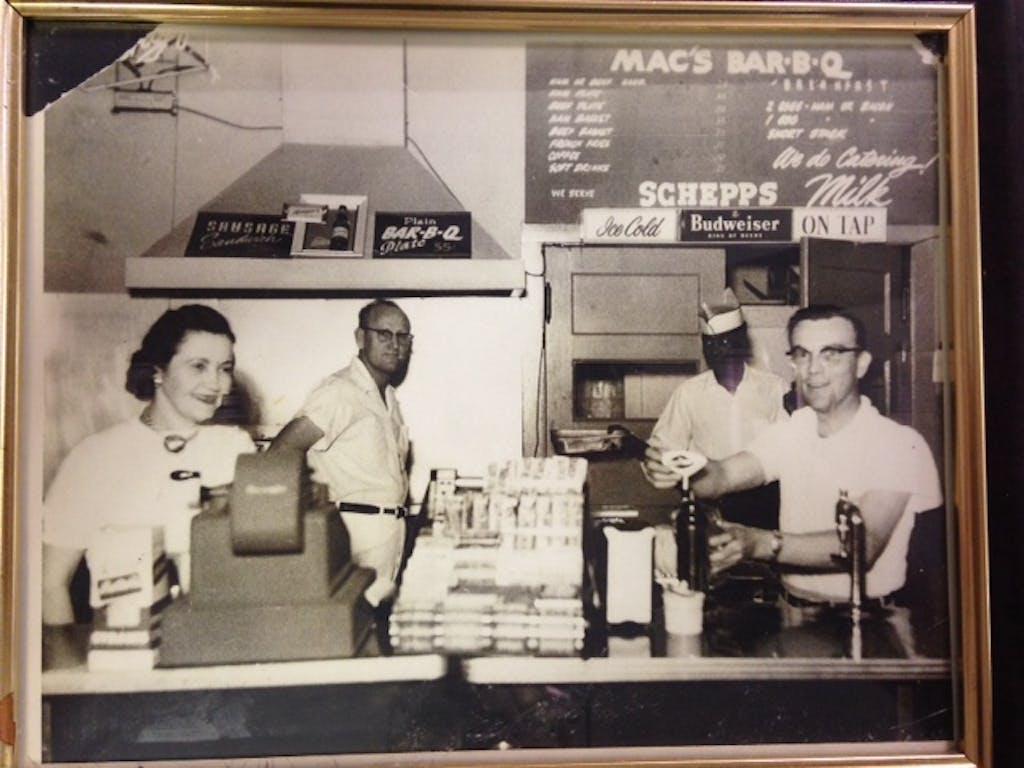 Mac's BBQ Vern's