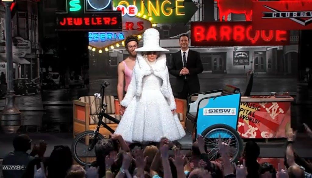 Gaga dress